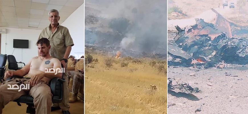 Libya'da Hafter'e bağlı güçler savaş uçağı düşürdü Portekizli pilot esir alındı