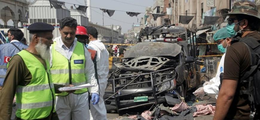 Pakistan'ın Lahor kentinde bombalı saldırı: 10 ölü