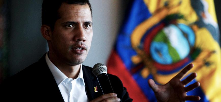 Venezuela'da muhalif lider Guaido'nun yardımcısına gözaltı