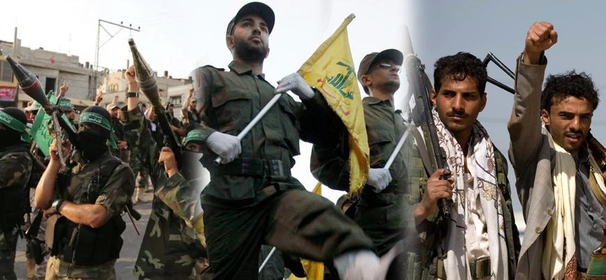 İran'ın Ortadoğu'daki silahlı güçleri: Hamas Hizbullah ve Husiler