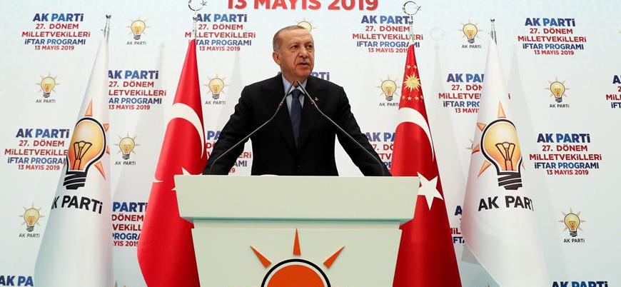 Erdoğan: Belediye seçimi için Avrupa'dan Amerika'ya herkes seferber oldu