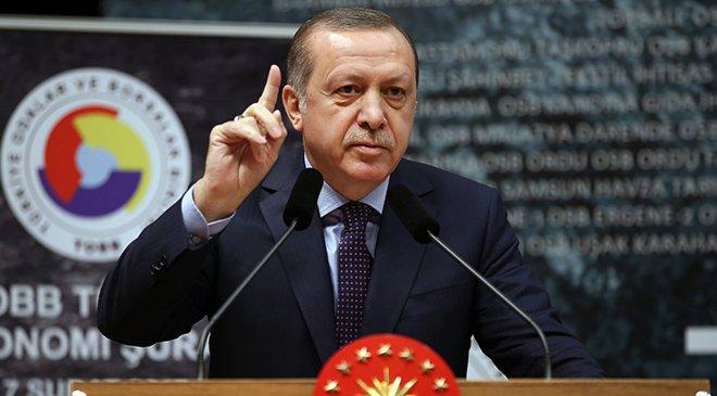 Erdoğan: Faiz politikası bir sömürü aracıdır