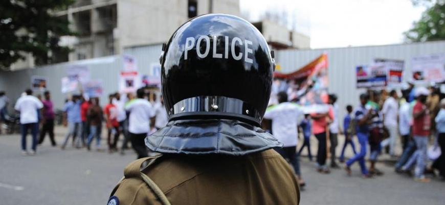 Sri Lanka'da gece sokağa çıkma yasağı