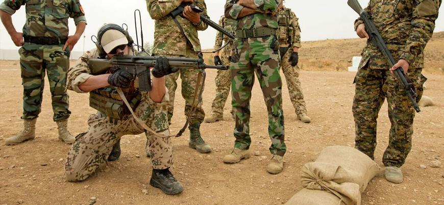 Almanya İran tehdidi nedeniyle Irak'taki askeri faaliyetlerini durduruyor