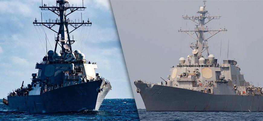 ABD-İran gerginliği: 2 ABD destroyeri Basra Körfezi'ne ulaştı