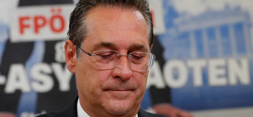 Avusturya Başbakan Yardımcısı Rus bağlantıları ortaya çıkınca istifa etti