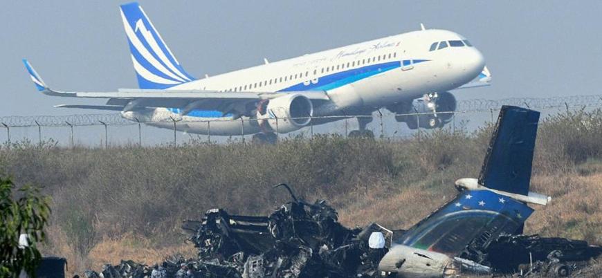 ABD uçağının düşürüldüğü bölgede uçuşları yasakladı