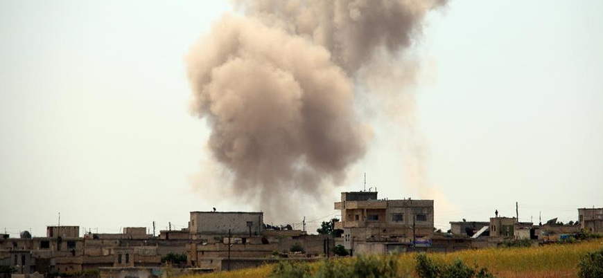 Tek taraflı ateşkes ilan eden Esed rejimi İdlib'e saldırmaya devam ediyor