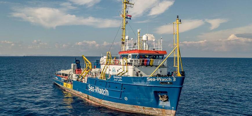 İtalya mültecileri kurtaran gemiye el koydu