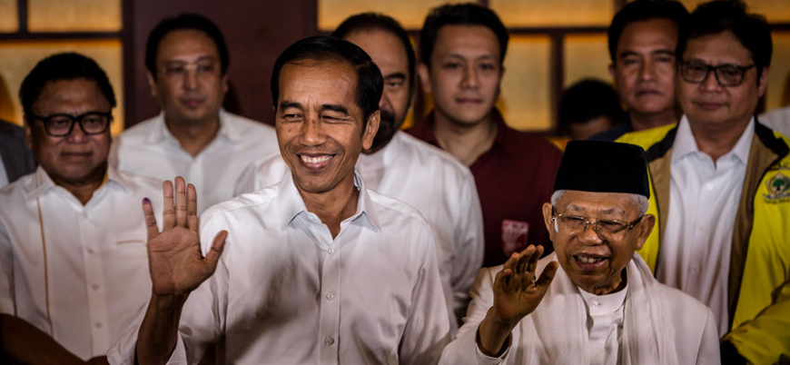 Endonezya'da Widodo yeniden başkan seçildi