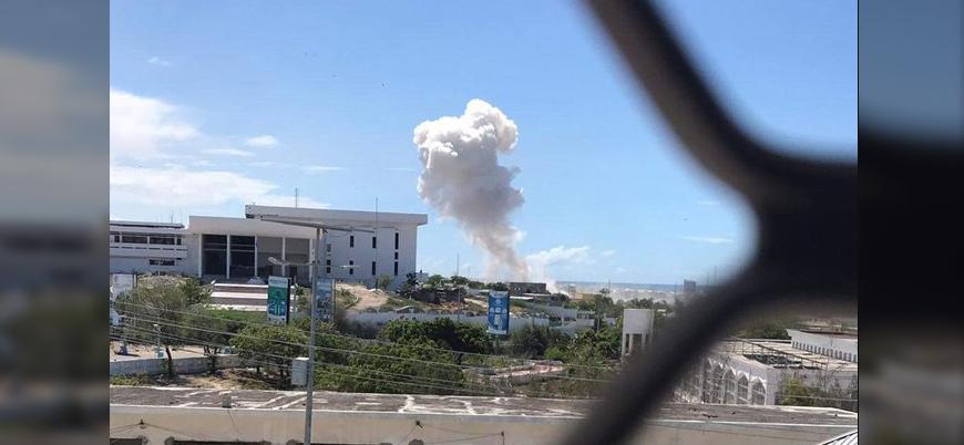 Eş Şebab'dan Somali'nin başkenti Mogadişu'da bombalı araç saldırısı