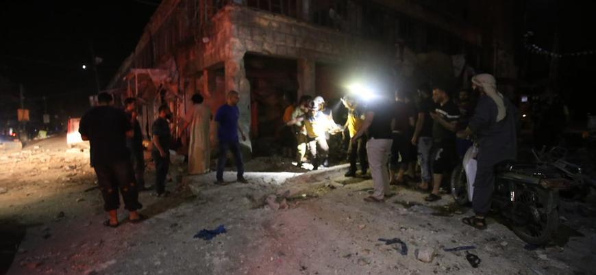 Esed rejimi sahur vakti sivilleri bombaladı: 12 ölü