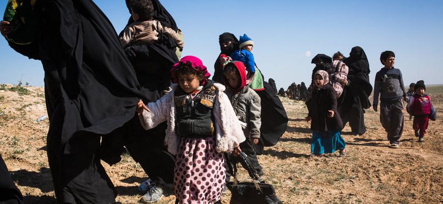 """""""Suriye'deki kamplarda 30 bine yakın yabancı çocuk korkunç koşullarda tutuluyor"""""""