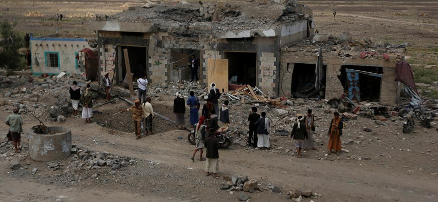Suudi Arabistan Yemen'de sivilleri vurdu: 13 ölü