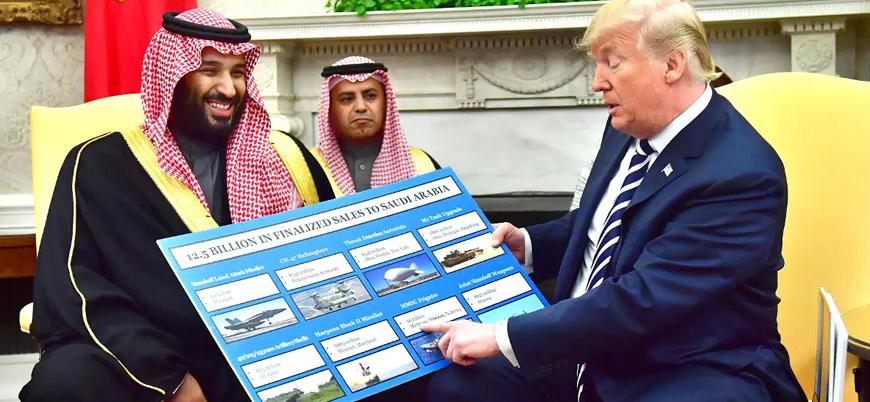 Trump Suudi Arabistan ve BAE'ye silah satışı konusunda ısrarcı