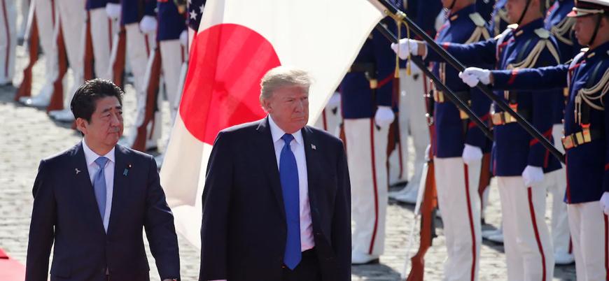 Trump'tan Çin ve Kuzey Kore geriliminin gölgesinde Japonya'ya ziyaret