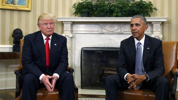 Trump: Obama benden hoşlanıyor