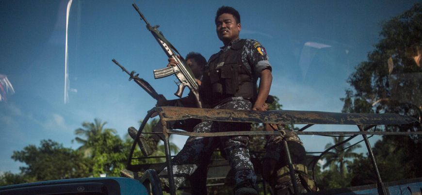 Arakanlı Müslümanları öldüren Myanmarlı askerlere tahliye