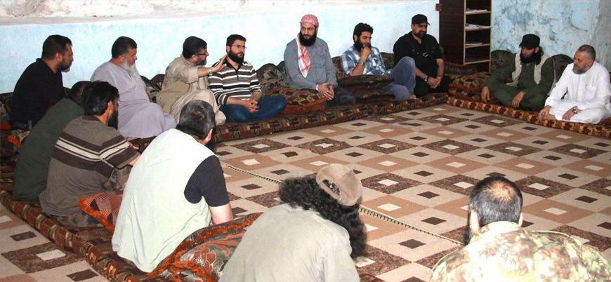 Suriyeli muhaliflerden 'üst düzey' toplantı: Liderler bir araya geldi