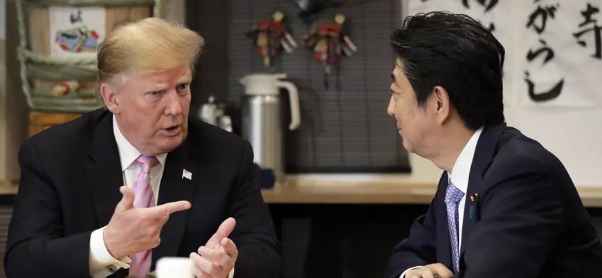 Trump Japonya'da: İran ve Kuzey Kore ile ilişkiler konuşuldu