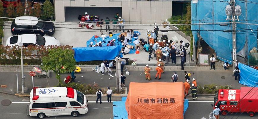 Japonya'da öğrencilere bıçaklı saldırı: 2 ölü