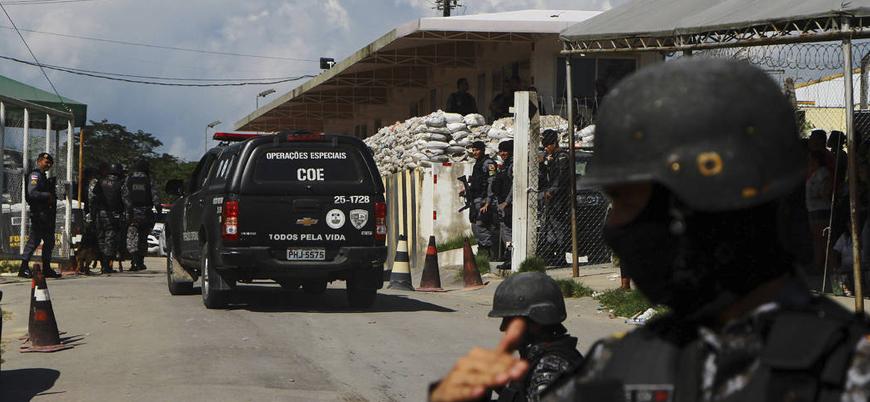 Brezilya'da cezaevinde çıkan isyanda en az 55 mahkum öldü