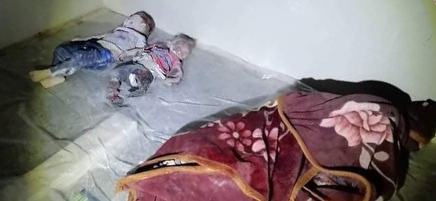 Rusya İdlib'de sivilleri vuruyor: 5'i kadın 3'ü çocuk 14 ölü