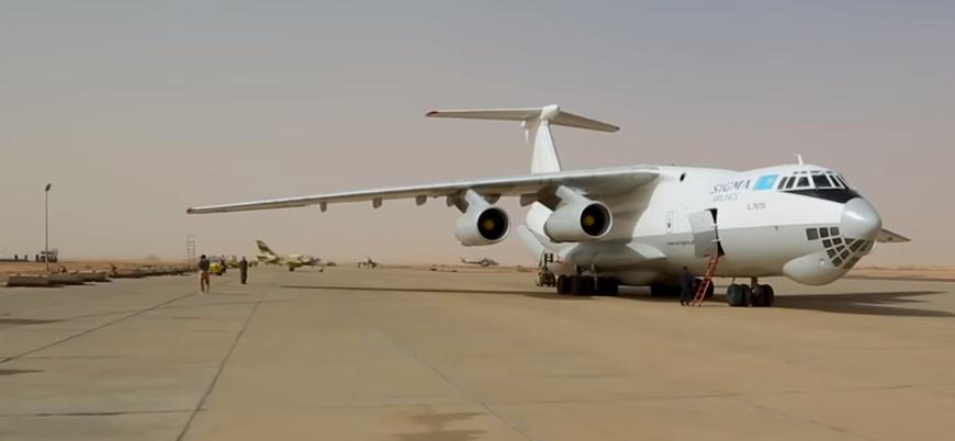 Libya'da Hafter'e gizli silah desteği