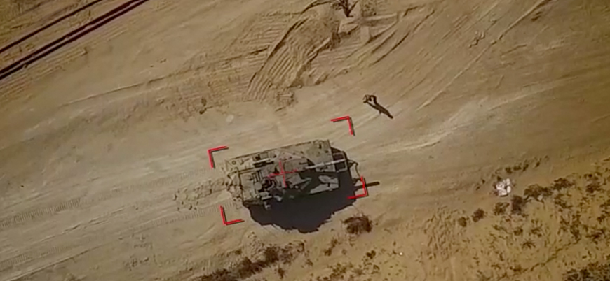 Filistin İslami Cihad Hareketi'nden İsrail ordusuna drone saldırısı