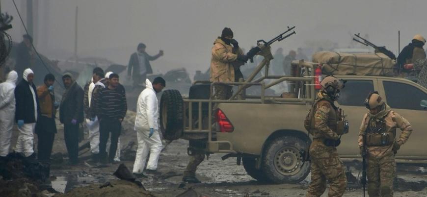 Afganistan'ın başkenti Kabil'de yabancı güçlere bombalı saldırı