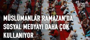 Müslümanlar Ramazan'da sosyal medyayı daha çok kullanıyor