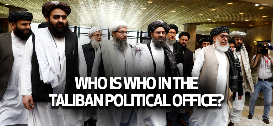 Who is who in the Taliban Political Office?