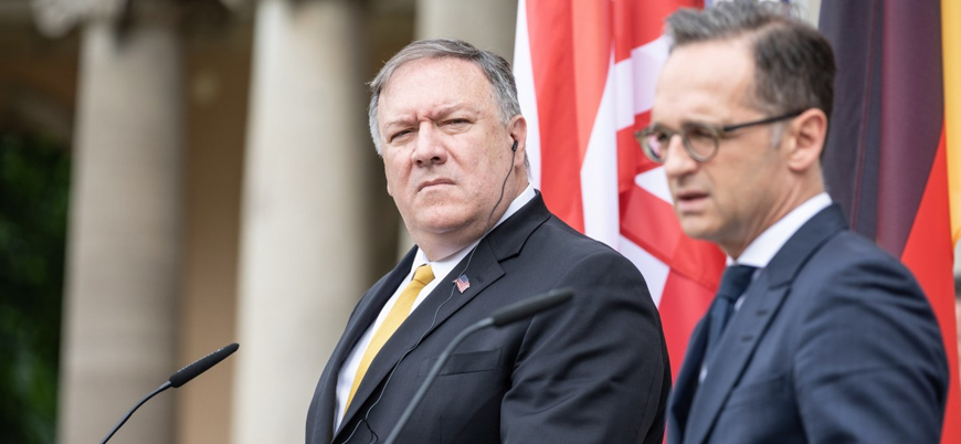 Pompeo Almanya'da İran'a karşı destek arayışında