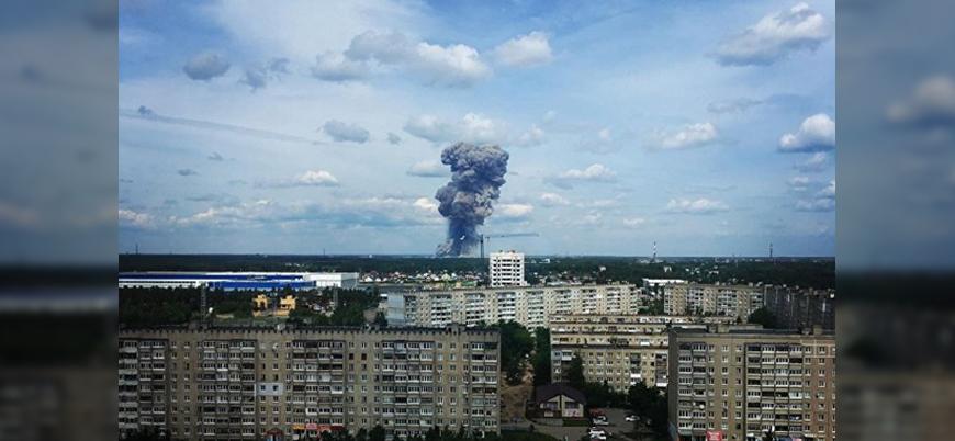 Rusya'da TNT fabrikasında patlama: 19 yaralı