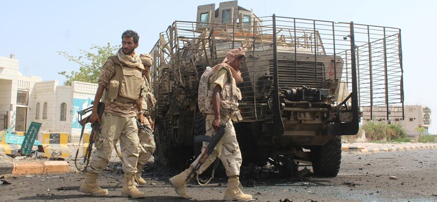 Husilerden Yemen'de Suudi Arabistan destekli güçlere drone saldırısı