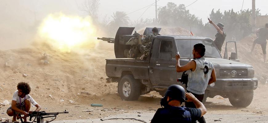 Ulusal Mutabakat Hükümeti ve Hafter güçleri arasında çatışmalar yoğunlaşıyor