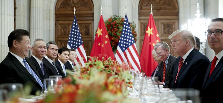 Ticaret savaşları: Çin'den ABD'ye suçlama