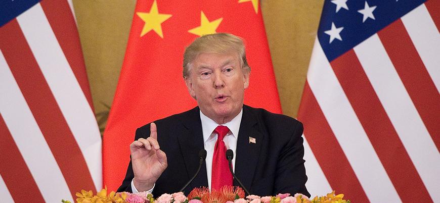 Trump'tan Çin'e yeni gümrük vergileri