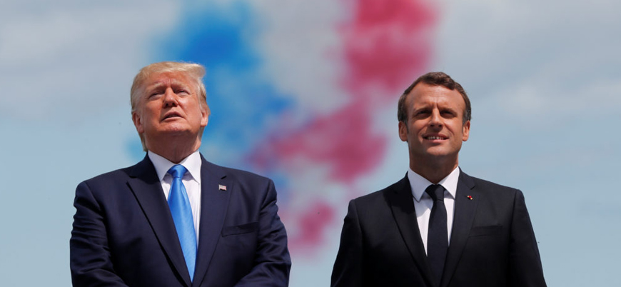 Trump ve Macron'dan ortak İran mesajı