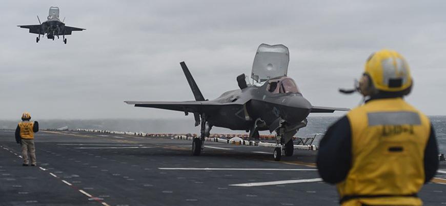 ABD Türk pilotların F-35 eğitimini sonlandırdı
