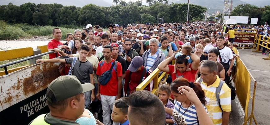Venezuela'dan göç edenlerin sayısı 4 milyona ulaştı