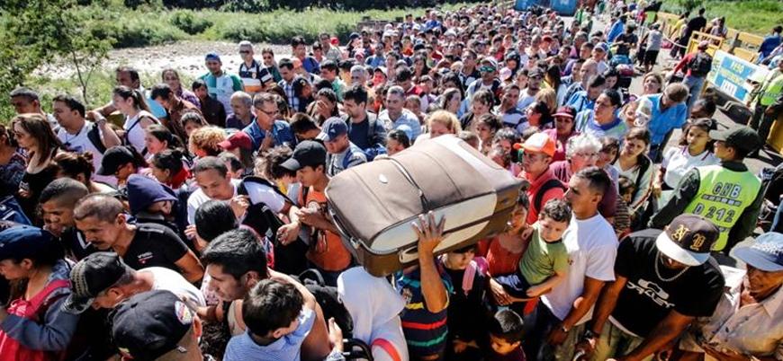 Kolombiya sınır kapısı açıldı, Venezuelalılar akın etti