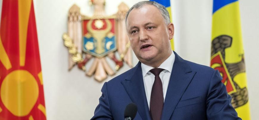 Moldova Cumhurbaşkanı görevinden azledildi