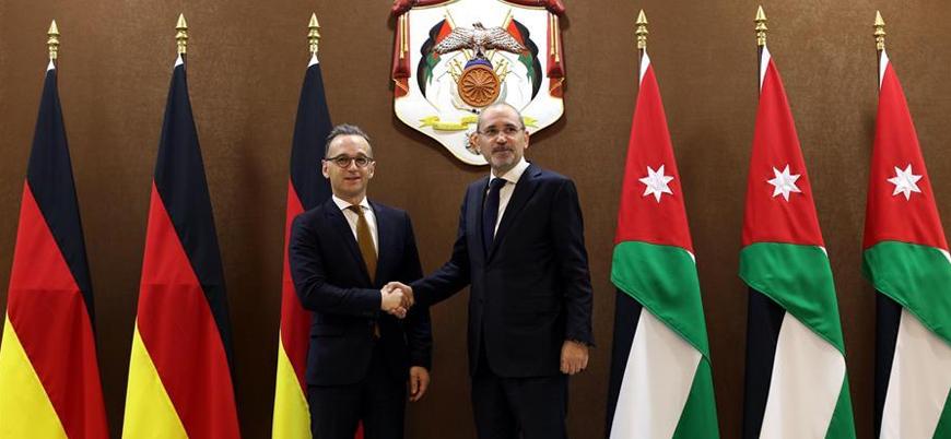 Ürdün ve Almanya'dan Filistin için iki devletli çözüm önerisi
