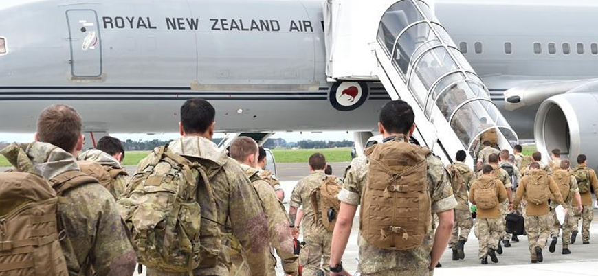 Yeni Zelanda'dan Irak'taki askerlerini çekme kararı