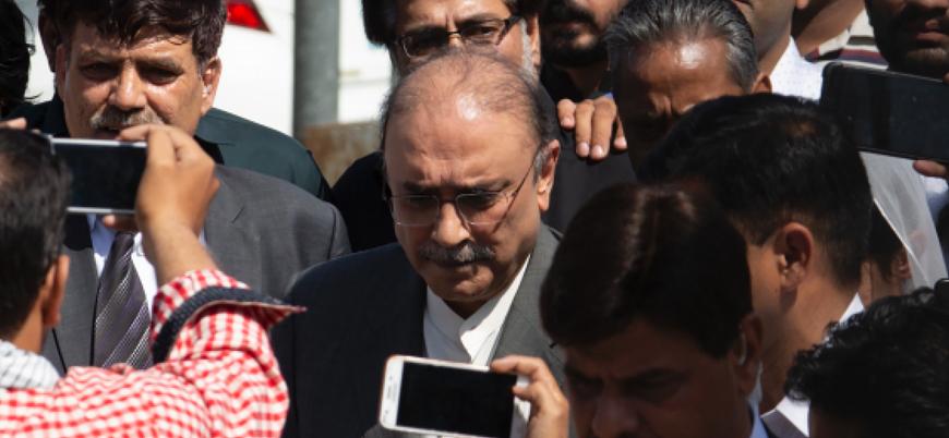 Pakistan eski cumhurbaşkanı Asıf Ali Zerdari yolsuzluktan tutuklandı