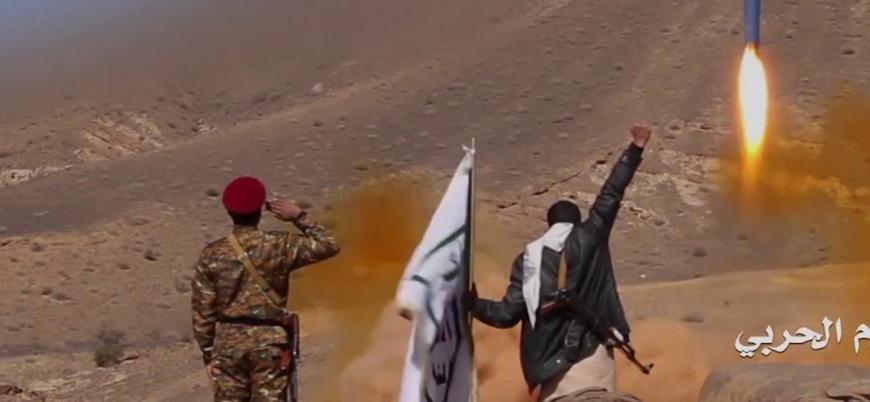 Husiler: Suudi Arabistan'ı balistik füze ve İHA'larla hedef aldık