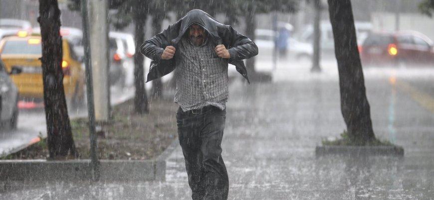 İstanbul için sağanak ve dolu uyarısı