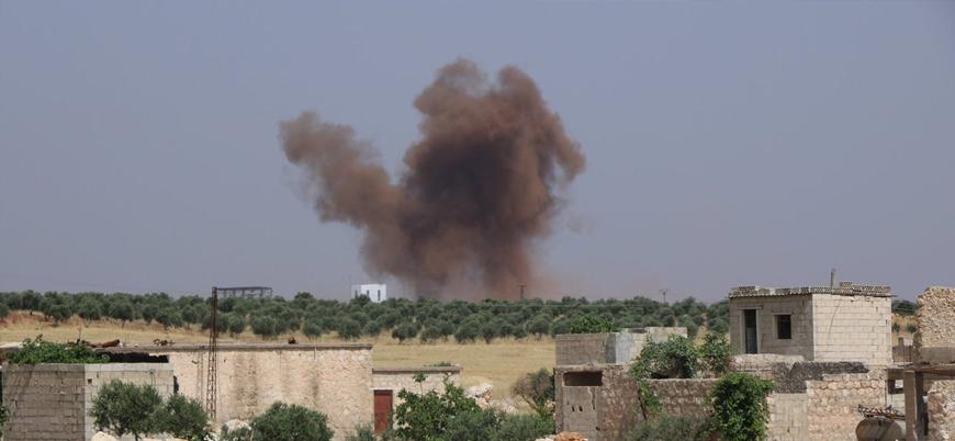 Esed rejimi İdlib'de sivilleri bombaladı: 5 ölü