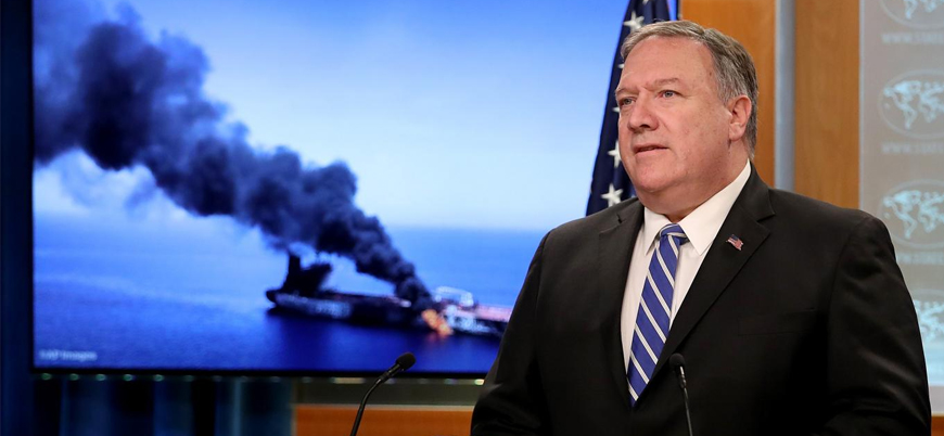 ABD: Umman Körfezi'ndeki tanker saldırılarından İran sorumlu